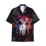 Tropical Summer Aloha Hawaiian Shirt Deer HC-NH13