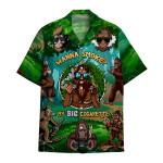 Tropical Summer Aloha Hawaiian Shirt Bigfoot DN-HG41