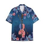 Tropical Summer Aloha Hawaiian Shirt Violin HC-NH14