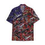 Tropical Summer Aloha Hawaiian Shirt Gun AV-NQ08