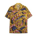 Tropical Summer Aloha Hawaiian Shirt Gun AV-NQ09
