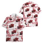 Tropical Summer Aloha Hawaiian Shirt Truck HC-HG15