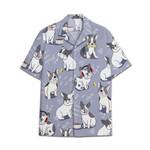 Tropical Summer Aloha Hawaiian Shirt French Bulldog DN-NQ22