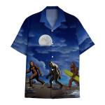 Tropical Summer Aloha Bigfoot Style Hawaiian Shirt DN-HG45