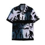 Tropical Summer Aloha Bigfoot Hawaiian Shirt DN-NQ27