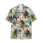 Tropical Summer Aloha Bigfoots Holiday Hawaiian Shirt AV-NH29