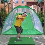 Golf Cage Swing Training Set
