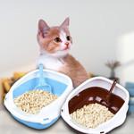 Kitty Cat Litter Box Small Corner Furniture