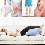2-In-1 Leg & Knee Wedge Relief Cushion