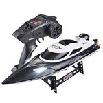 2.4G Rc Boat | 35Km/H High-Speed | 200 Meters Control Distance | Cooling Water System