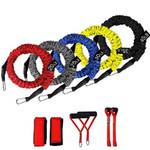150 Lbs Gym Resistance Bands Set 12 Pcs