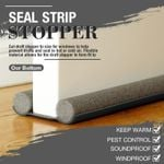 (50 )Door Bottom Seal Strip Stopper