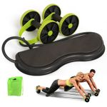 Gym Trainer Abs Wheel Roller Abdominal Muscle Trainer