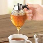 Glass Honey Drip Dispenser
