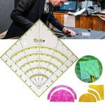 Arcs & Fans Quilt Circle Cutter Ruler