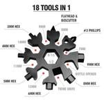 Saker 18-In-1 Sflake Multi-Tool