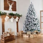 Exclusive White S Effect 5Ft And 6Ft Artificial Christmas Tree