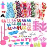 85Pcs Barbie Doll Accessories