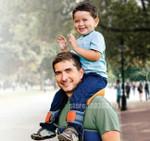 Ergonomic Hands Toddler Shoulder Carrier