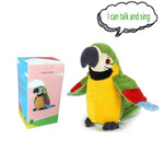 Plush Parrot Interactive Toy