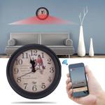 Wifi Clock With Video Camera