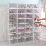 Stackable Shoe Box Organizer