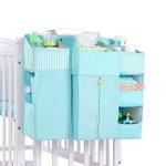 Portable Baby Crib Organizer - Diaper Hanging Organizer