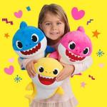 Baby Shark With Cartoon Music Plush Toy