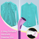 2-Way Portable Handheld Steamer Iron
