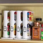 Multi-Function Rotating Storage Rack Kitchen Spice Organiser