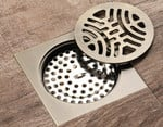 Stainless Steel Art Carved Floor Drain