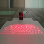 Laser Projected Keyboard