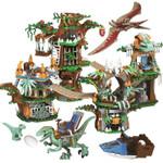 Toys Tree House Jurassic World Dinosaur Building Blocks