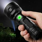 30000-100000 Lumen High Power Led Waterproof Flash Light Lamp Ultra Bright