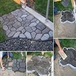 Outdoor Concrete Paving Mold