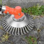 Solide-Steelpro Garden Weed Brush Lawn Mower Tool