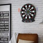 Large Electronic Soft Tip Digital Dart Board Set