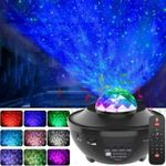 Star Projector - Night Light Projector - Led Galaxy Projector With Music
