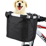 Premium Bicycle Dog Basket Front Dog Carrier Basket