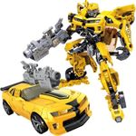 Optimus Bumblebee Transformer Action Figure Toys Suitable For Age 5+ Children