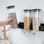 Wall-Mounted Canister Cereal Dispenser