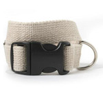 Solid Hemp Dog Collar