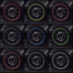 8 Meters Rimblades Car Vehicle Color Wheel Rim Protector Decor Strip