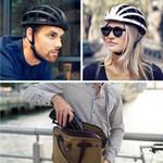 Foldable Bicycle Helmet