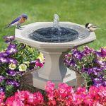 Spring Solar Powered Bionic Fountain