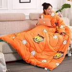 Wearablanket - Wearable Winter Lazy Quilt With Sleeves Cozy Blanket