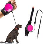 Hands Retractable Dog Leash - Wrist Strap 3M Reflective Dog Leash