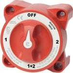 Hunters Creek Blue Sea E-Series Battery Switch Selector W/Alternator Field Disconnect