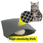 Waterproof Double Layer Cat Litter Bed