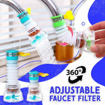 360 Degree Adjustable Faucet Filter
